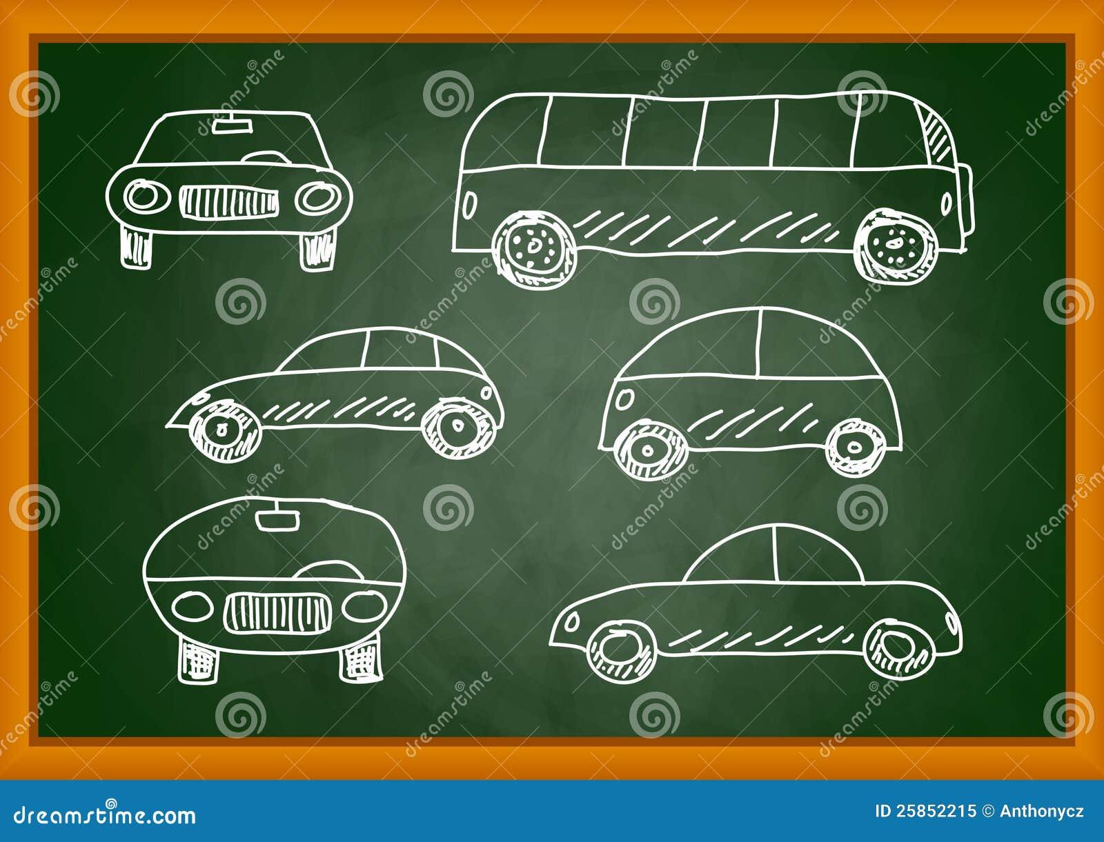 Teckning av bilar