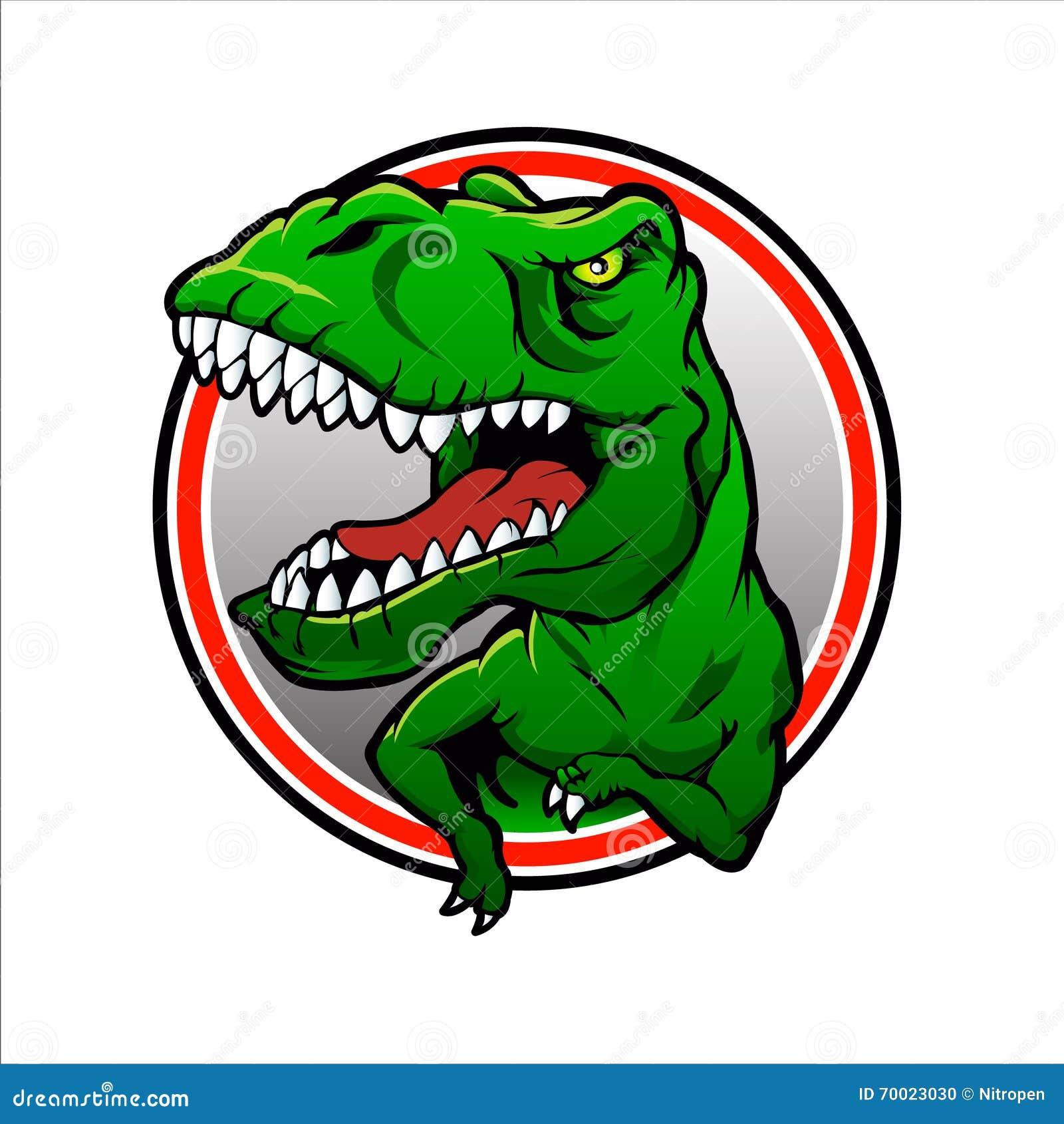 Teckning för Tyranosaurus rexvektor