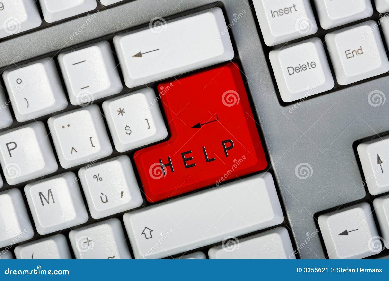 Tecla da ajuda