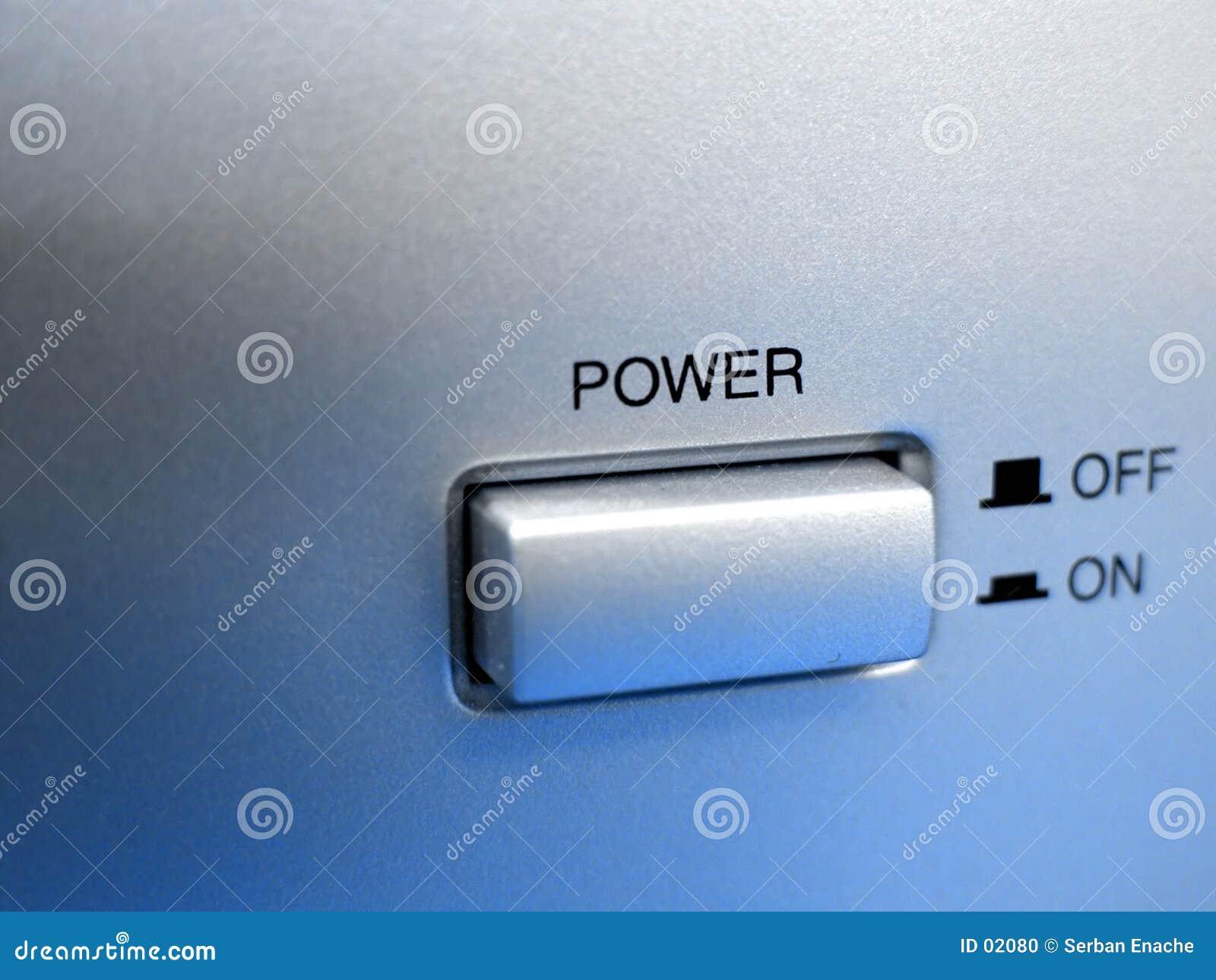 Tecla da potência