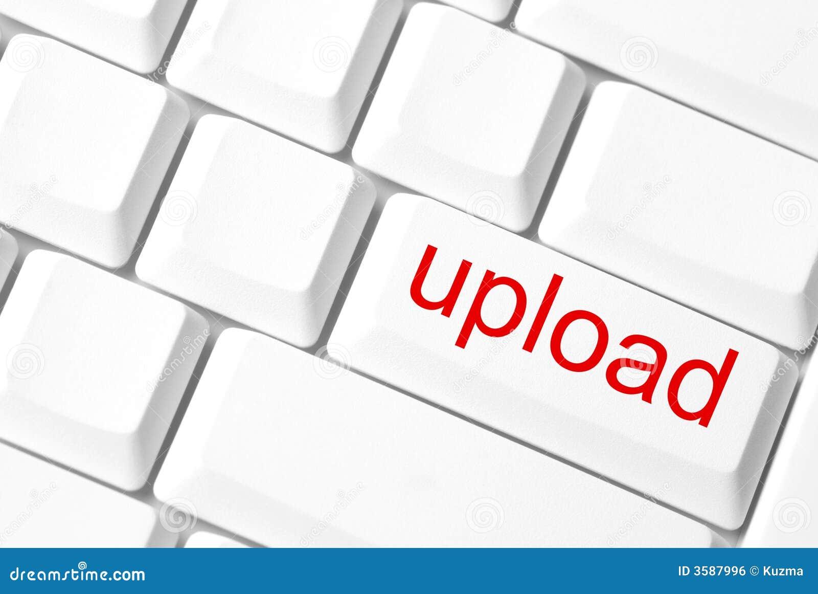 Tecla da transferência de arquivo pela rede