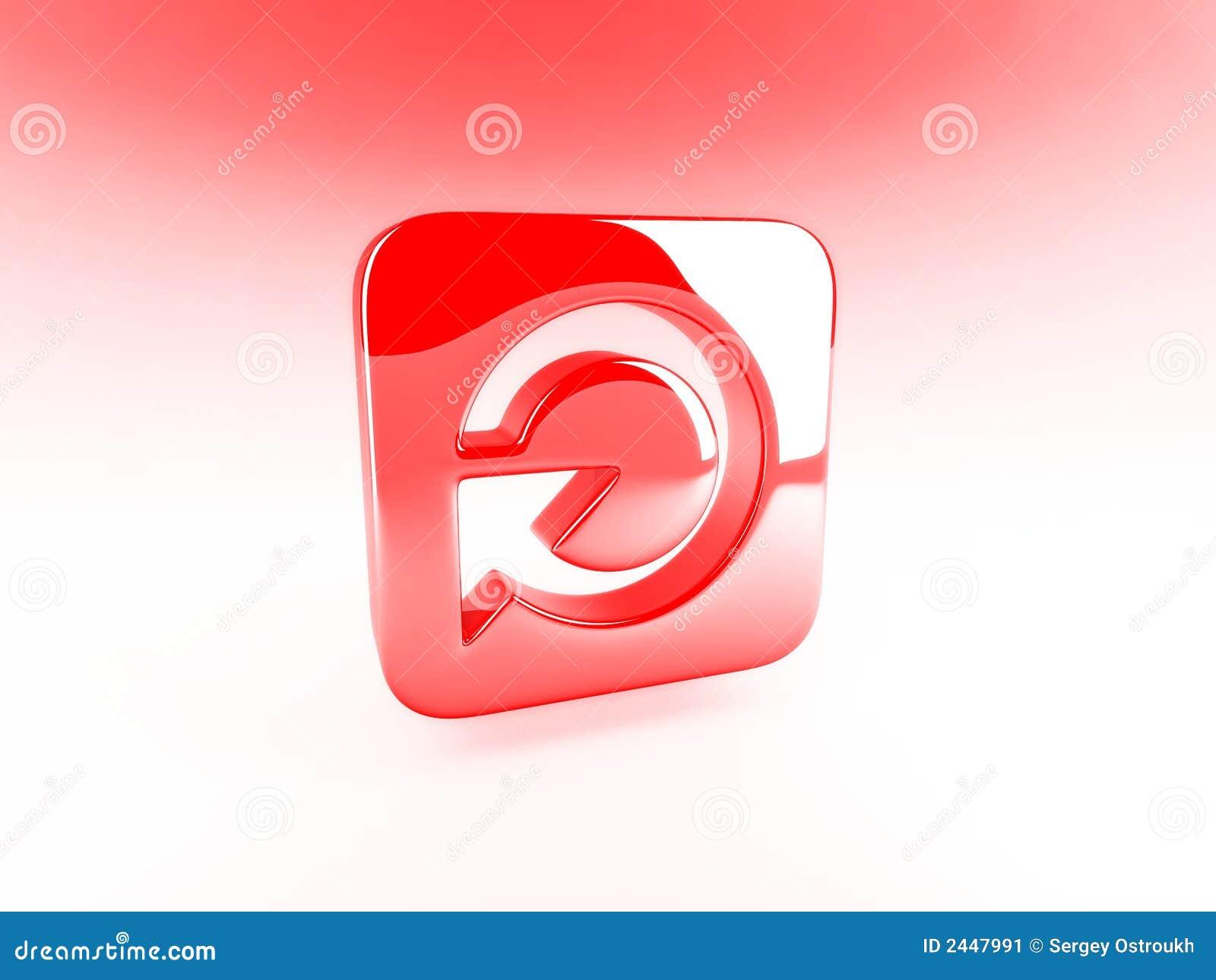 Tecla vermelha