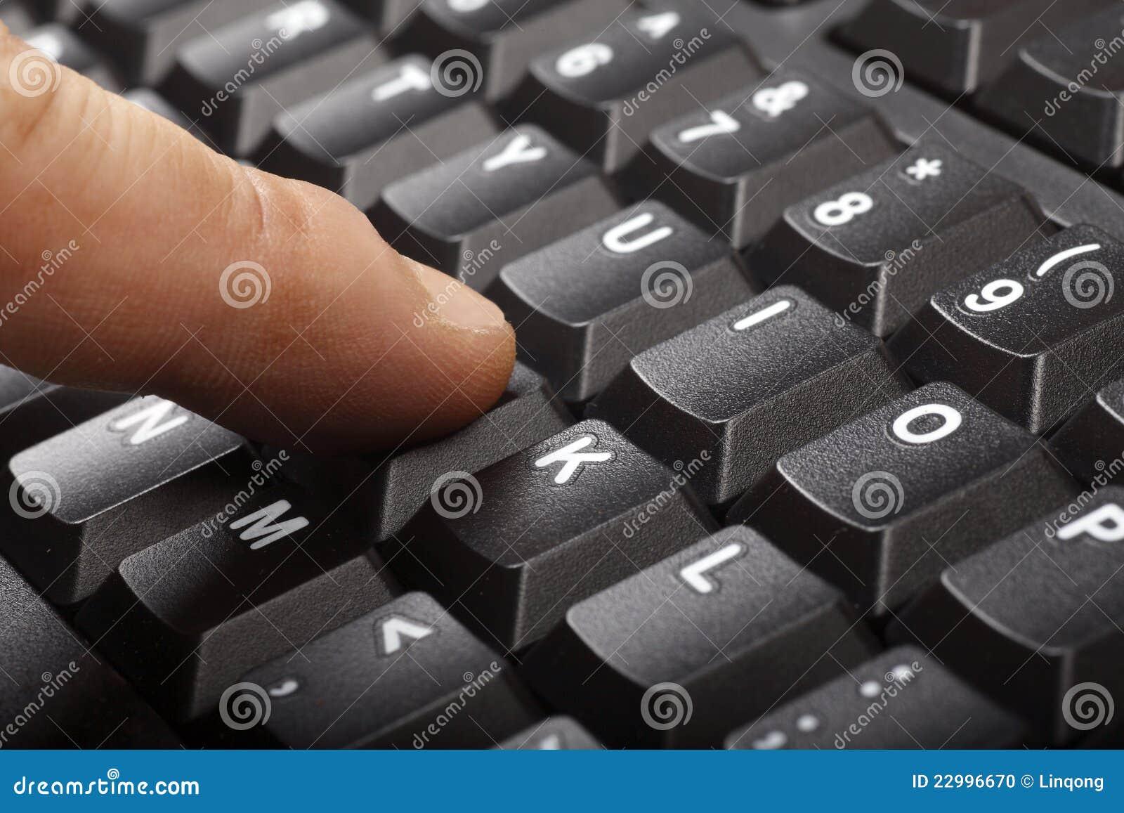 Teclado de ordenador foto de archivo imagen 22996670 - Foto teclado ordenador ...