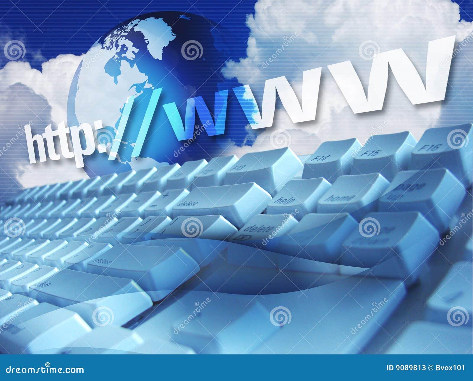 Teclado del Internet