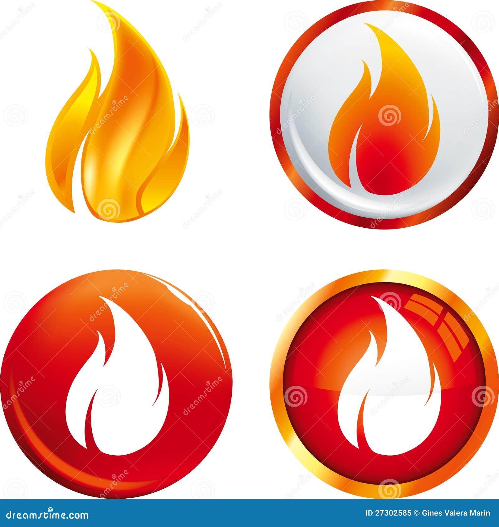 Teclas da flama