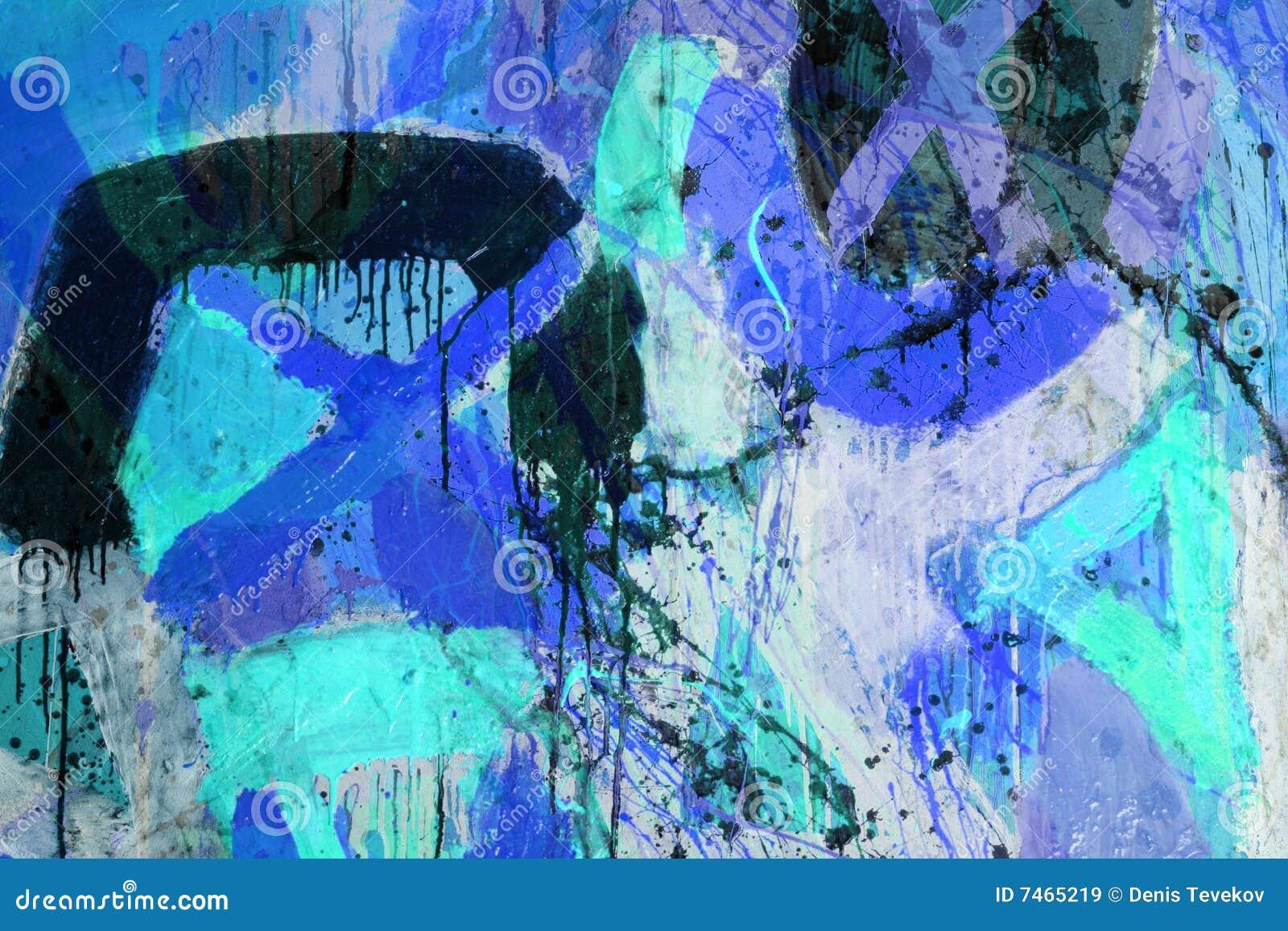 Tecniche mixed pittura astratta immagini stock libere da for Tecniche di pittura