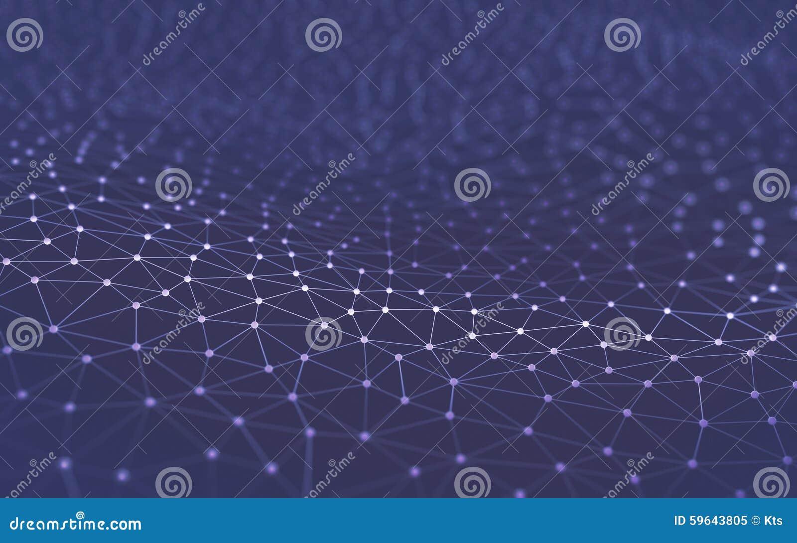 Tecnología abstracta de la ciencia del fondo