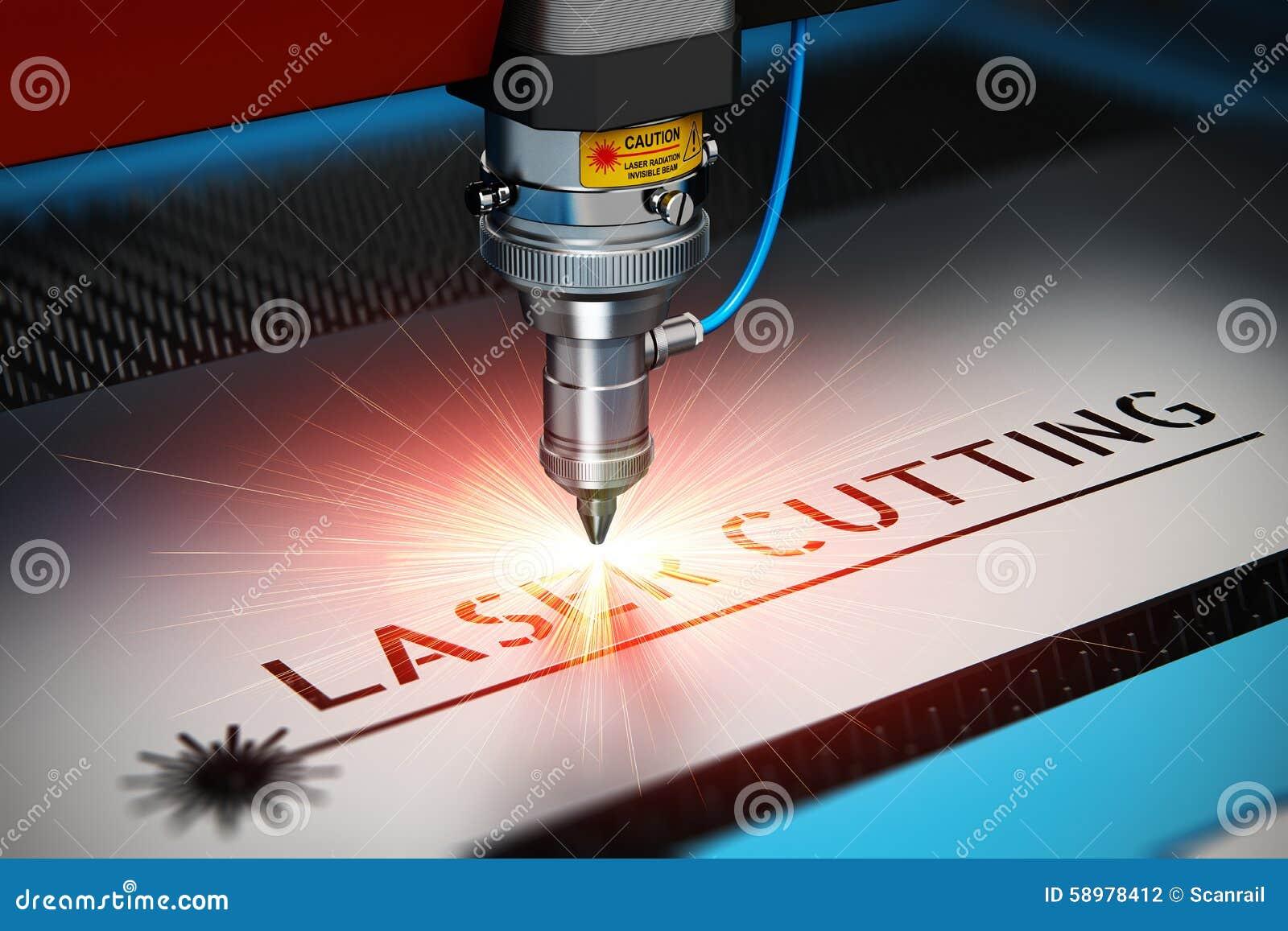 Tecnología del corte del laser