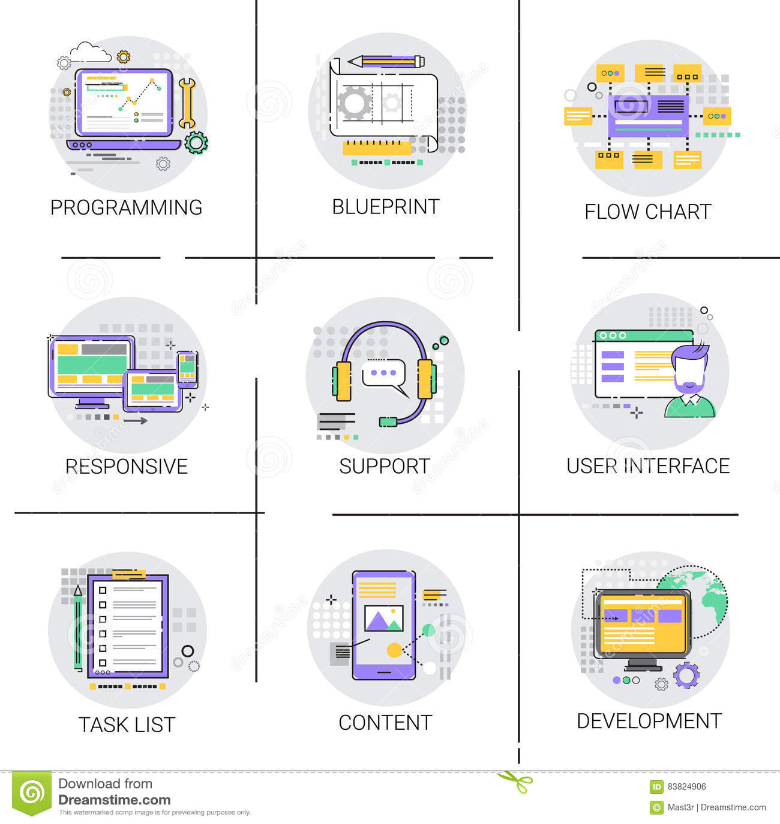 Tecnología del dispositivo de programación de equipo de desarrollo del interfaz de la aplicación de software