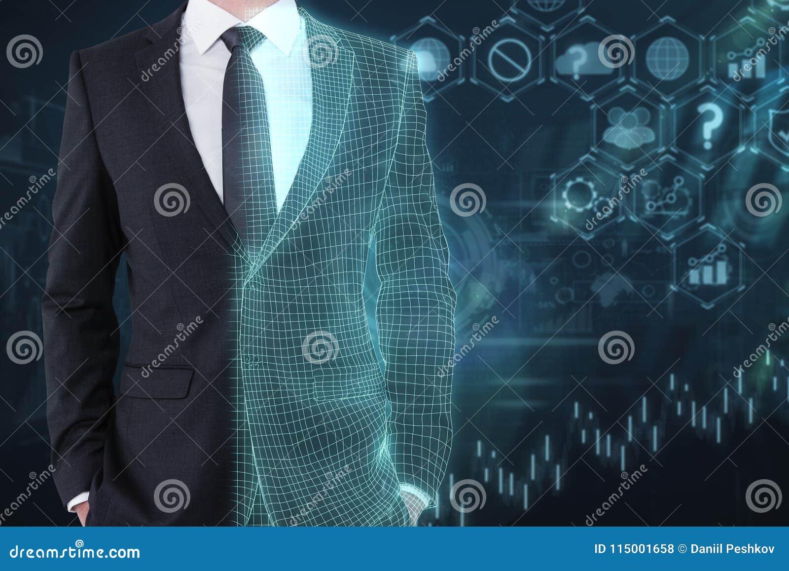 Tecnología, inteligencia artificial y concepto del web
