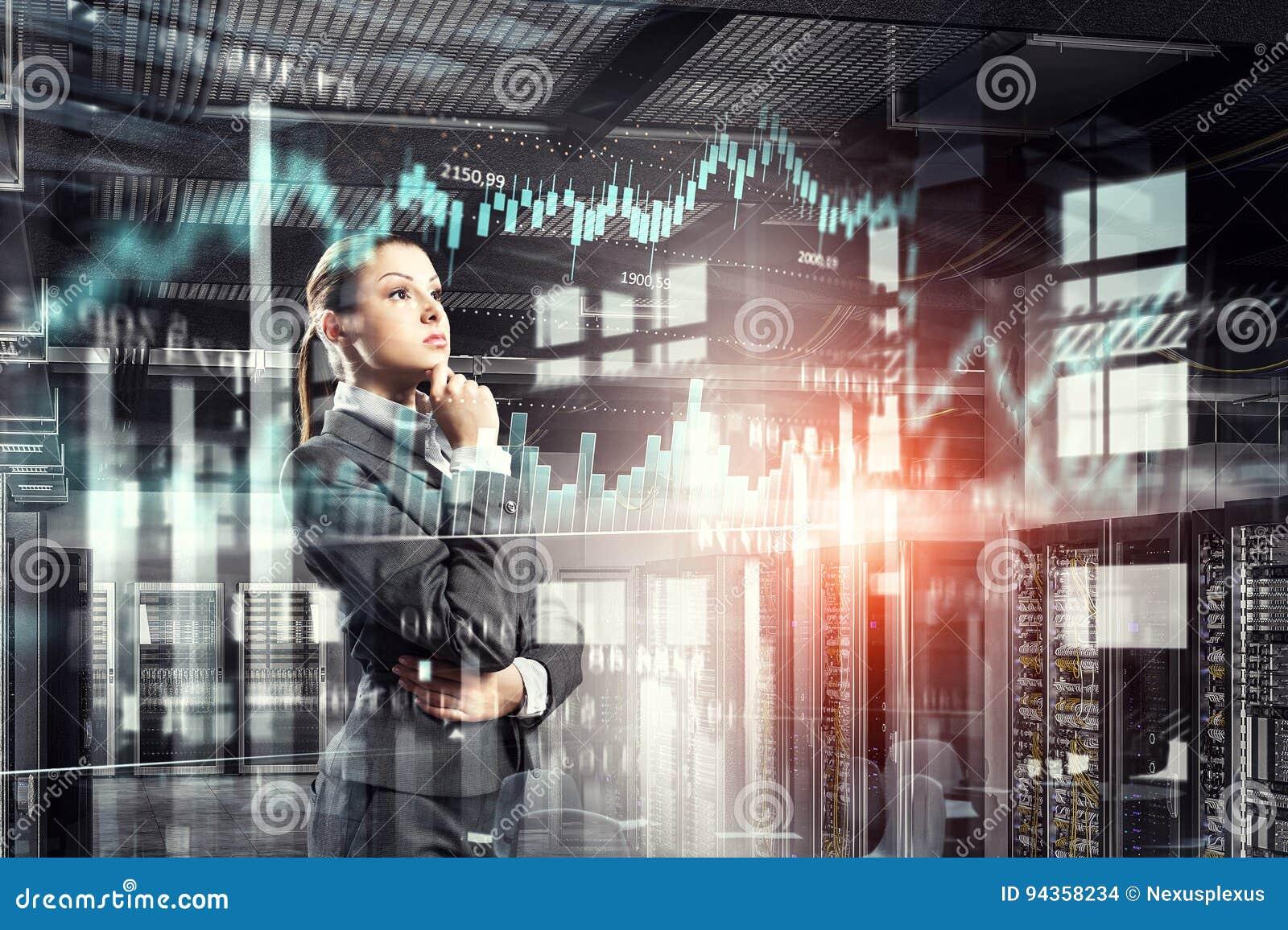 Tecnologías innovadoras como símbolo para el progreso Técnicas mixtas