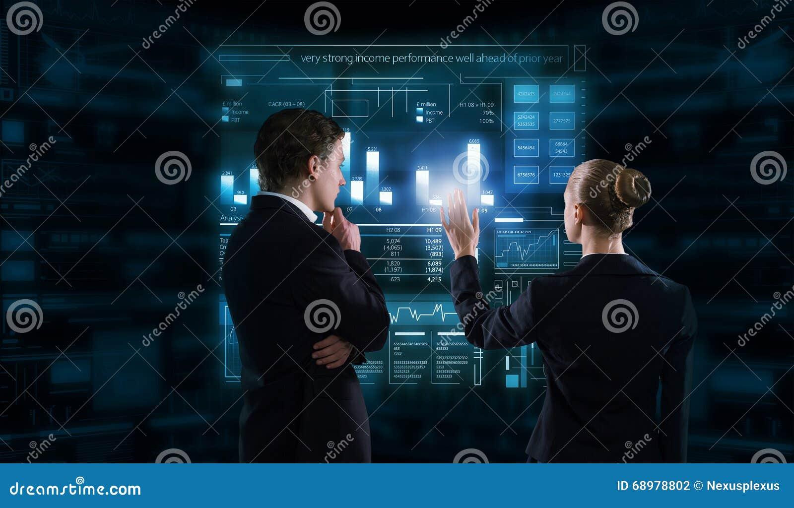 Tecnologías modernas funcionando