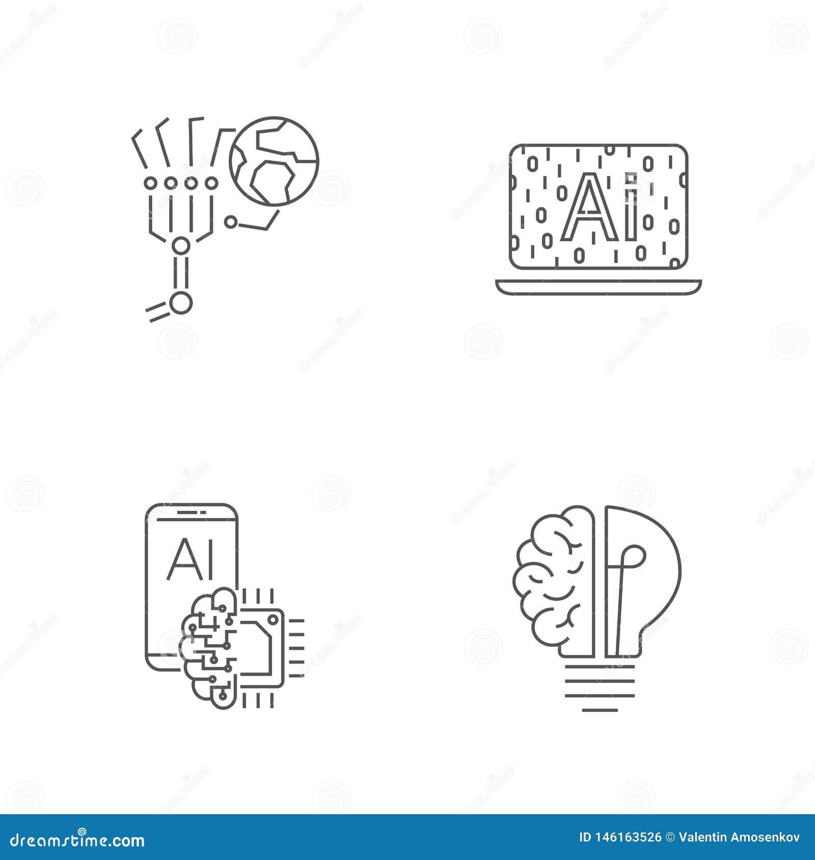 Tecnolog?a de Digitaces Movimiento Editable EPS 10