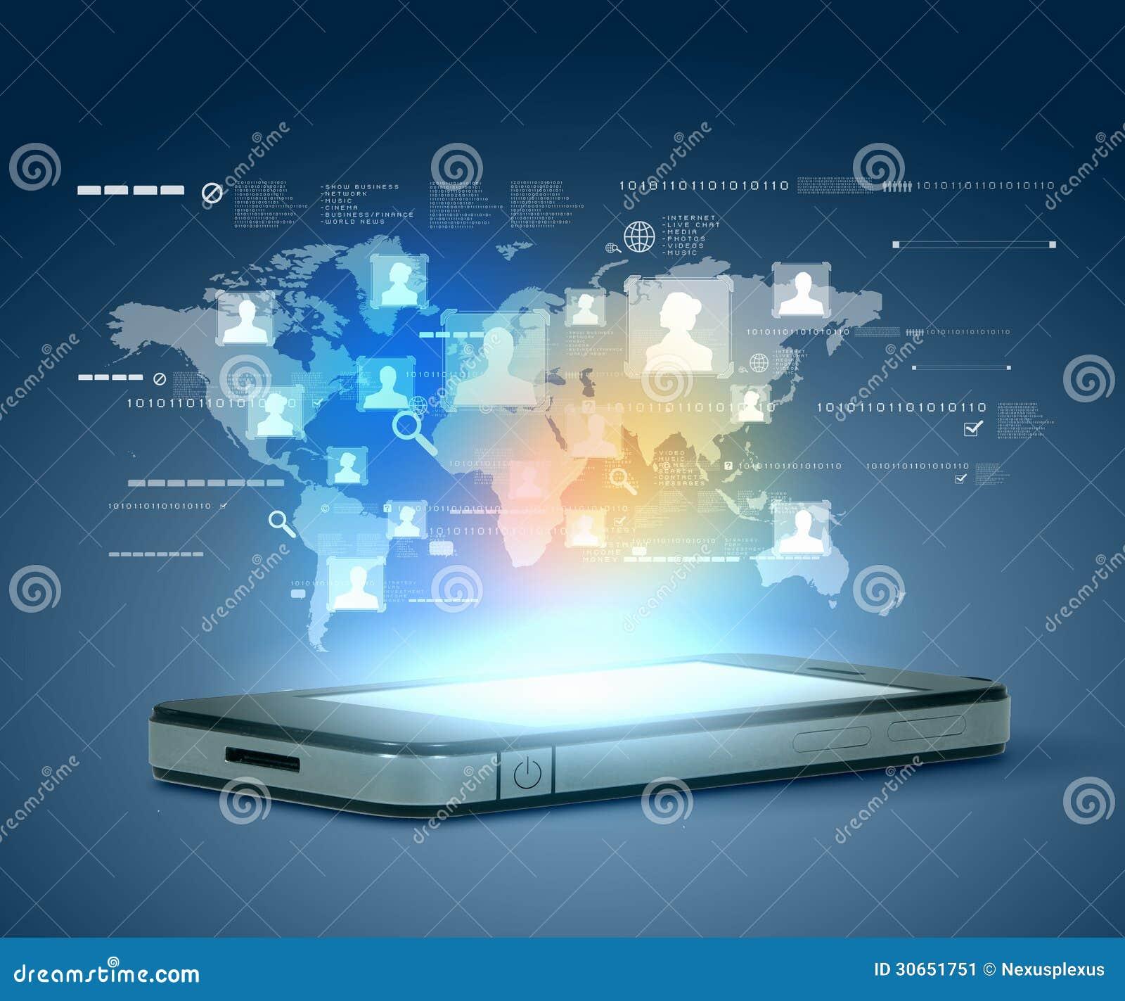 Tecnologia della comunicazione moderna