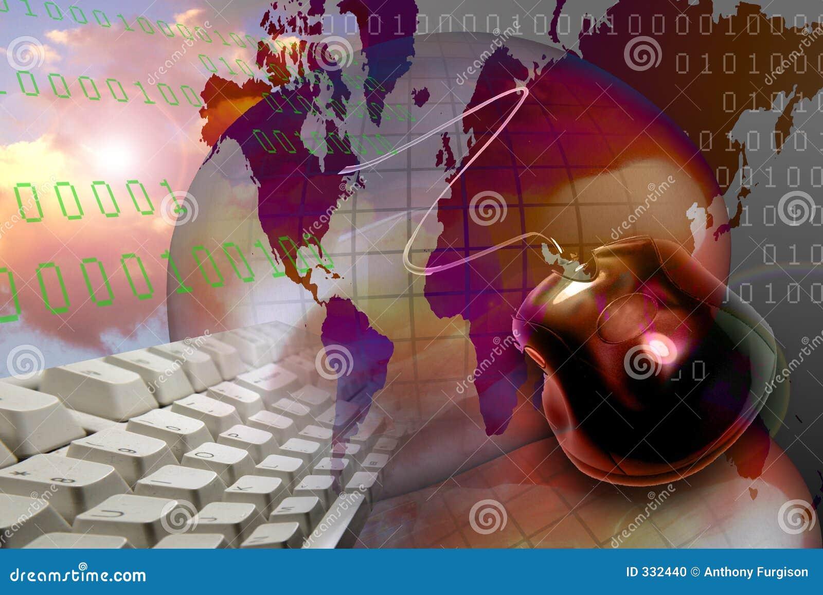 Tecnologia do Internet do Web de WWW