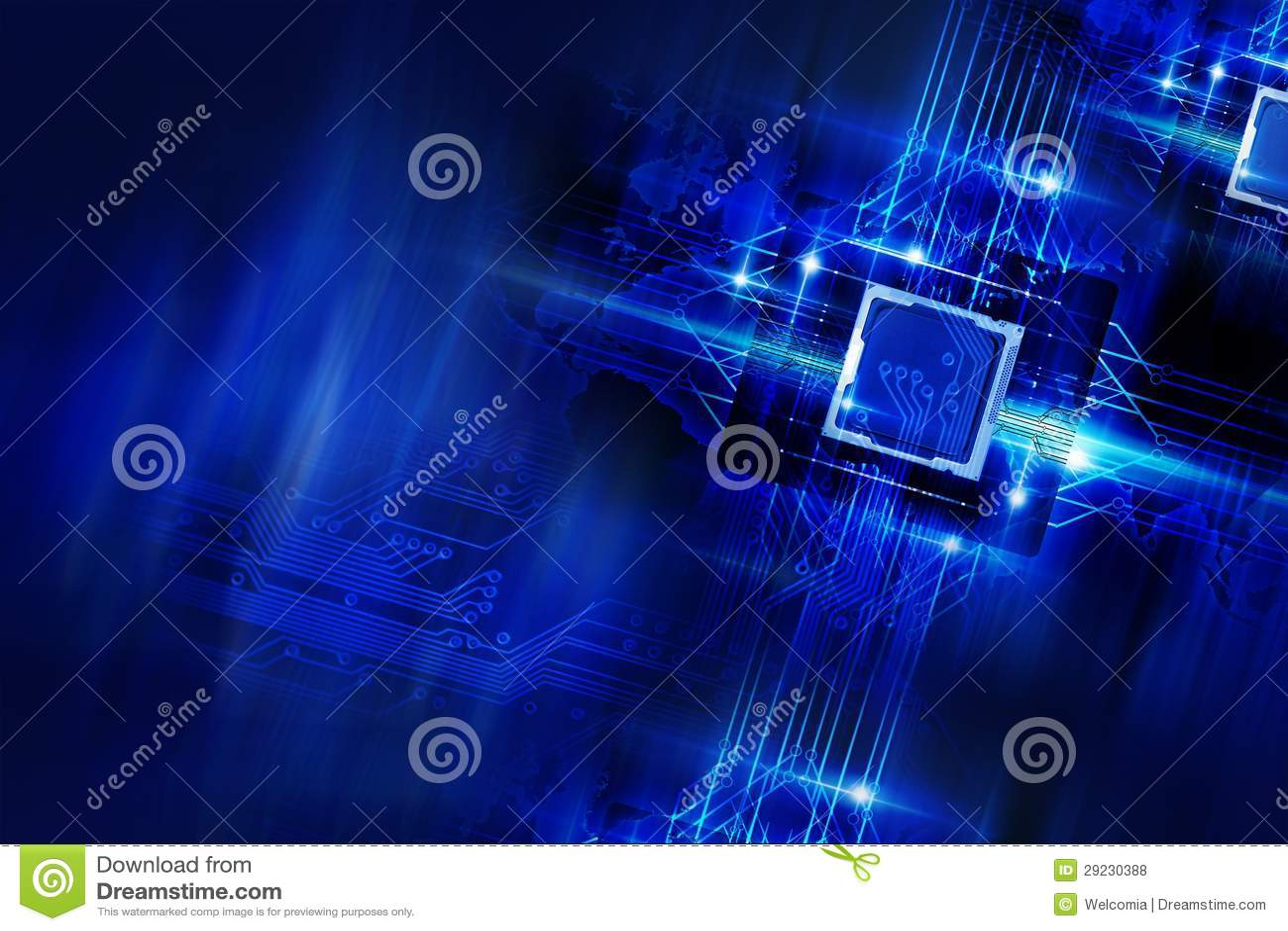 Download Tecnologia Nano foto de stock. Imagem de elétrico, eletrônico - 29230388