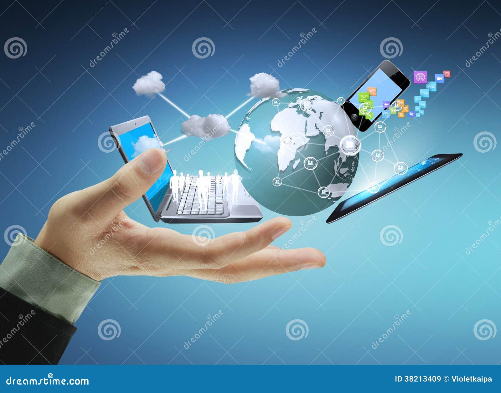 Tecnologia nelle mani