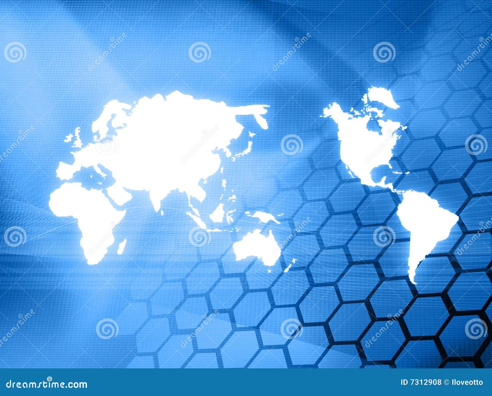 Tecnologia-stile del programma di mondo