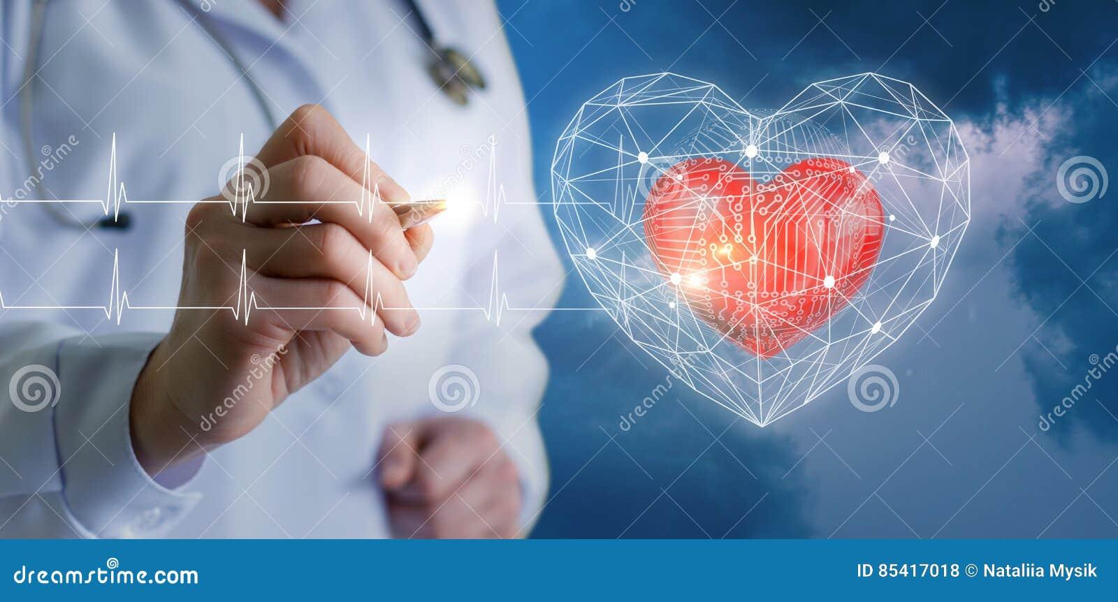 Tecnologias modernas dos diagnósticos do coração