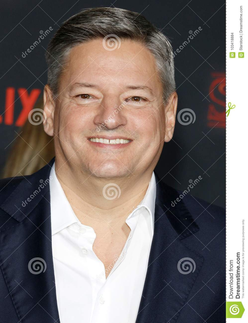Ted Sarandos editorial stock image  Image of ravets - 103418884