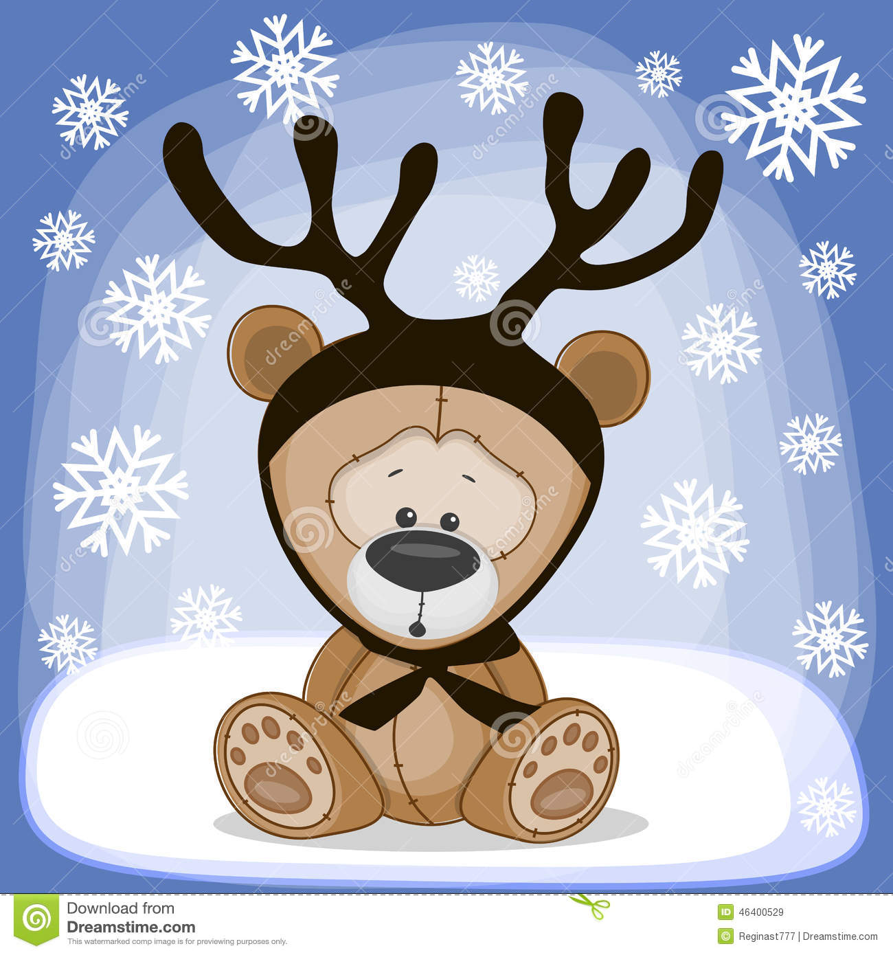 Image result for bear with antlers