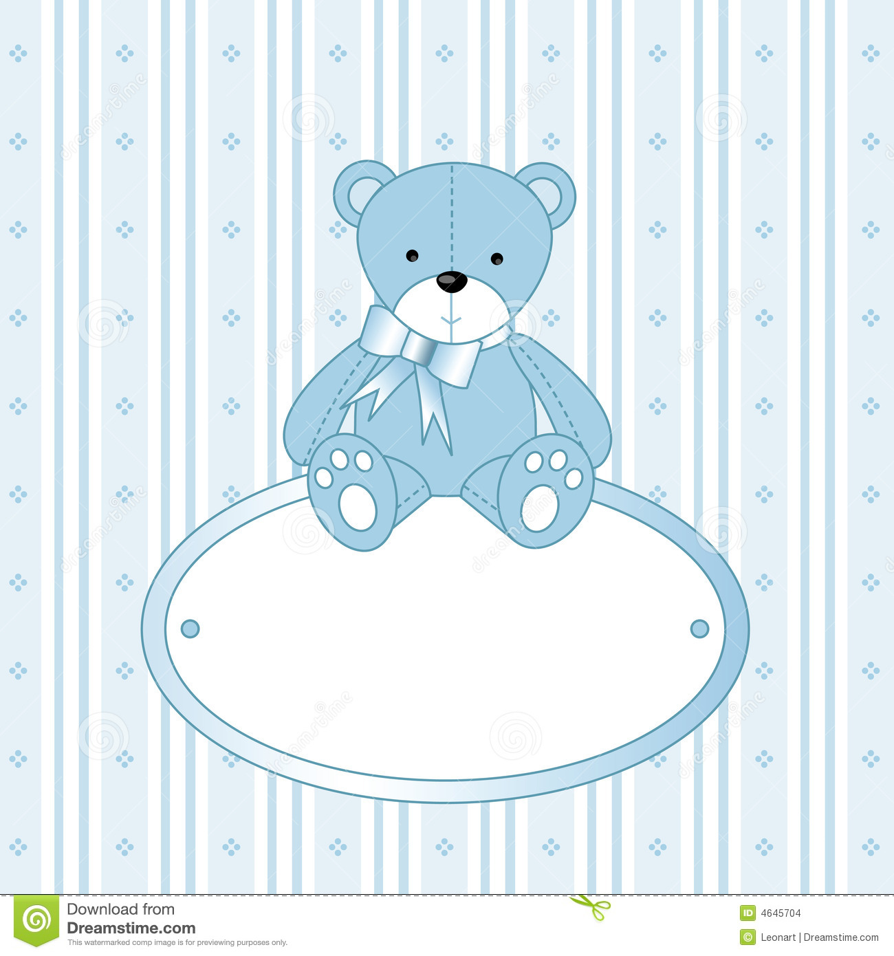 Baby boy teddy bear clip art - photo#25
