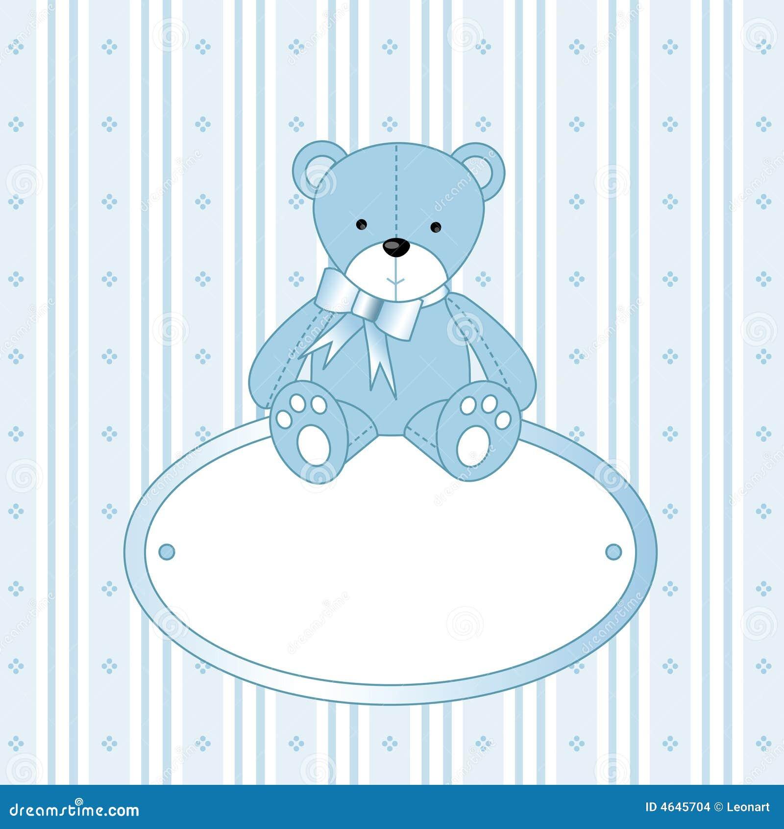 Baby Blue Bear Stock Photos - Image: 16095653