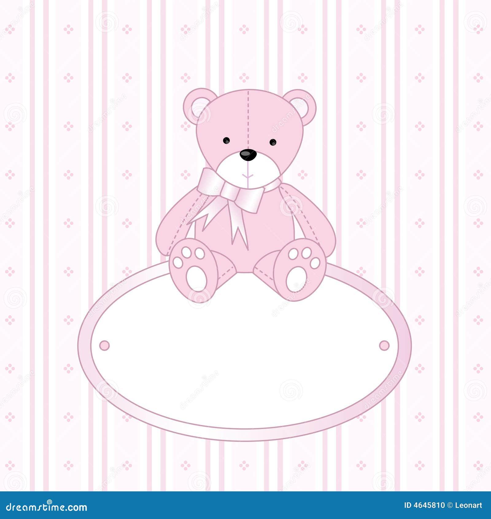 Teddy Bear For Baby Girl Stock Photo - Image: 4645810
