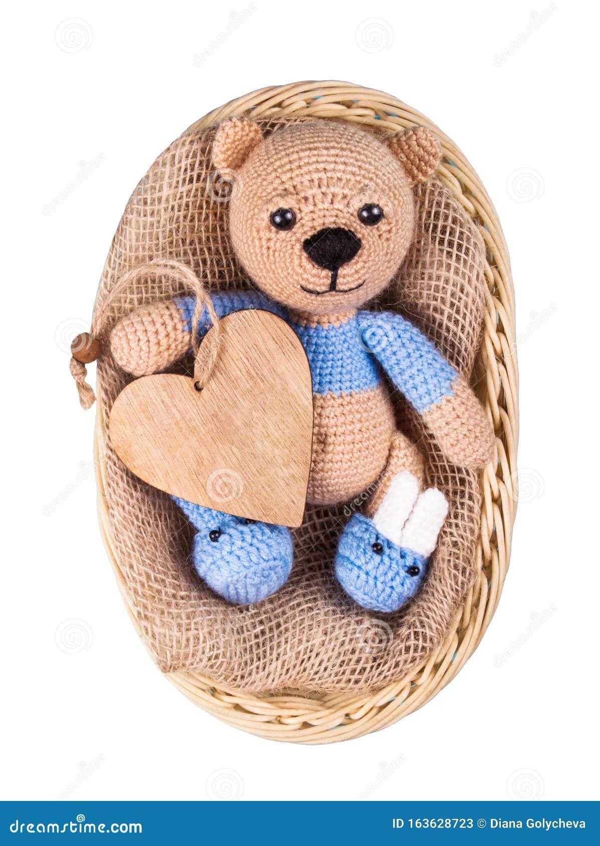 Free Teddy Bear Crochet Pattern — Knit Paint Sew | 1689x1198