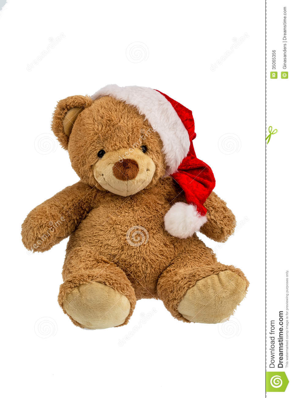 Teddy bear with christmas gifts stock photo image