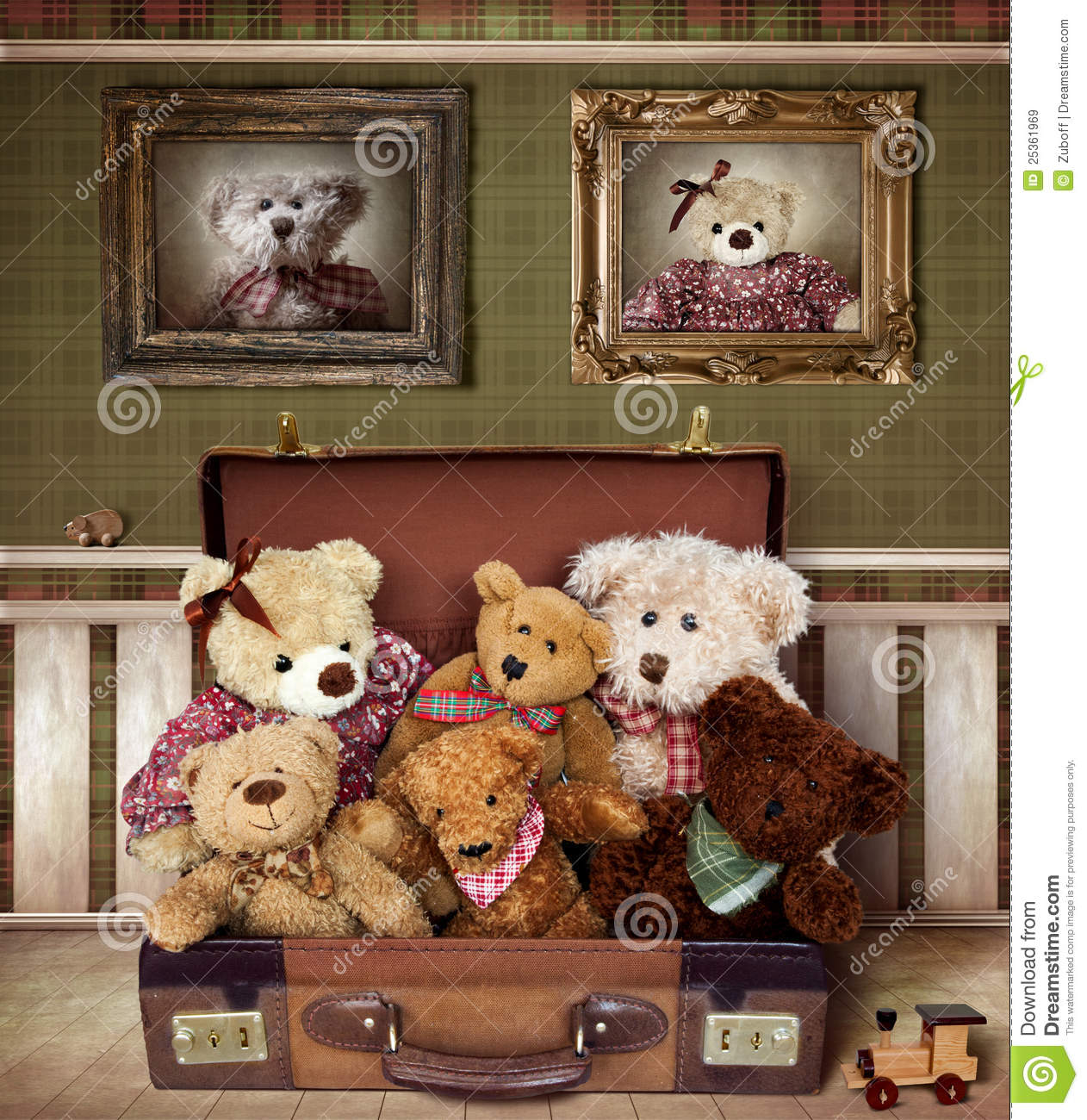 Teddy Bear Family Royalty Free Stock Images Image 25361969