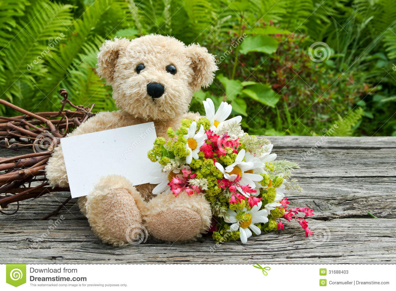 Teddy Bear Stock Image Image Of Love Background Birthday 31688403