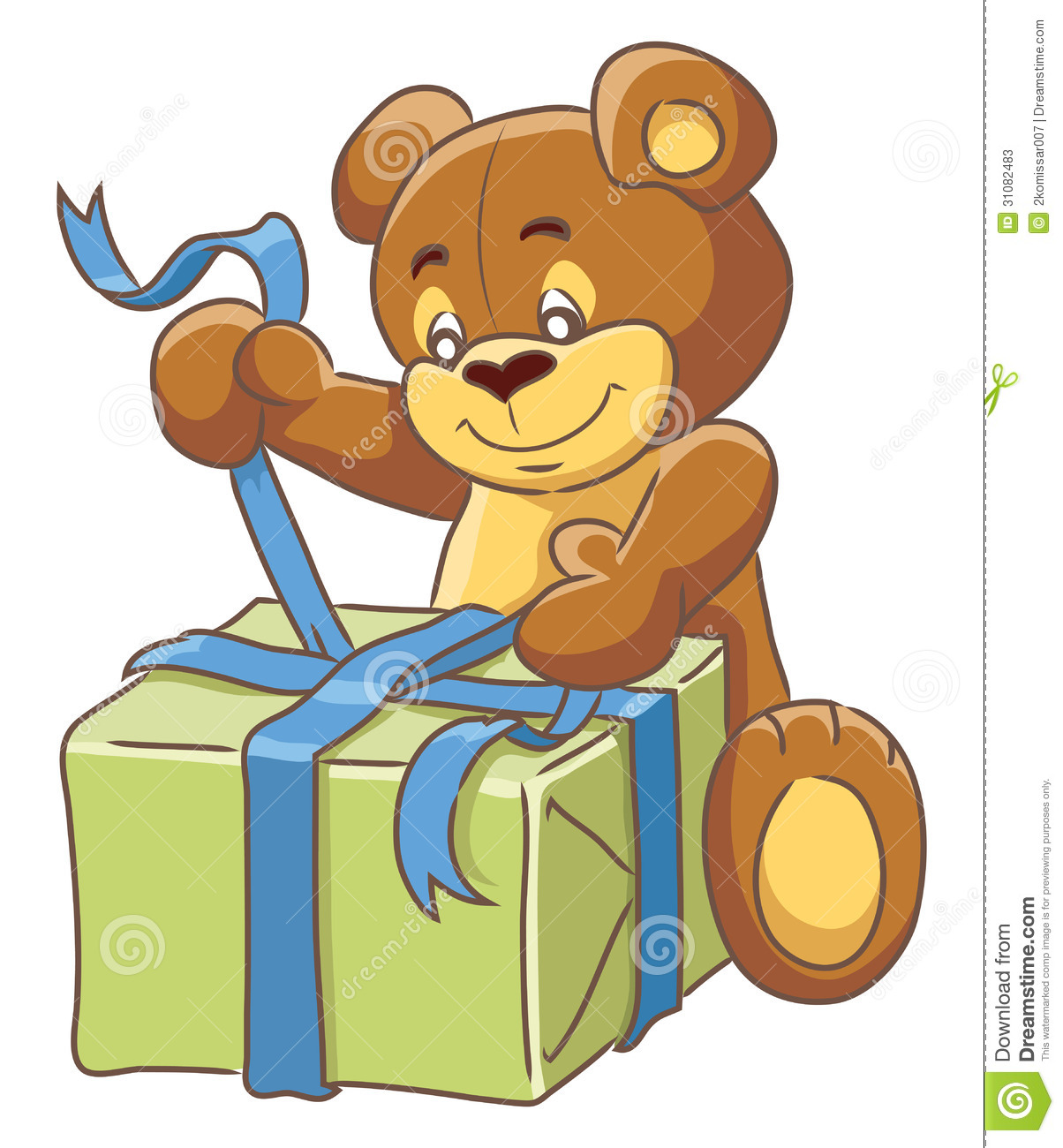 how to gift pack a teddy bear