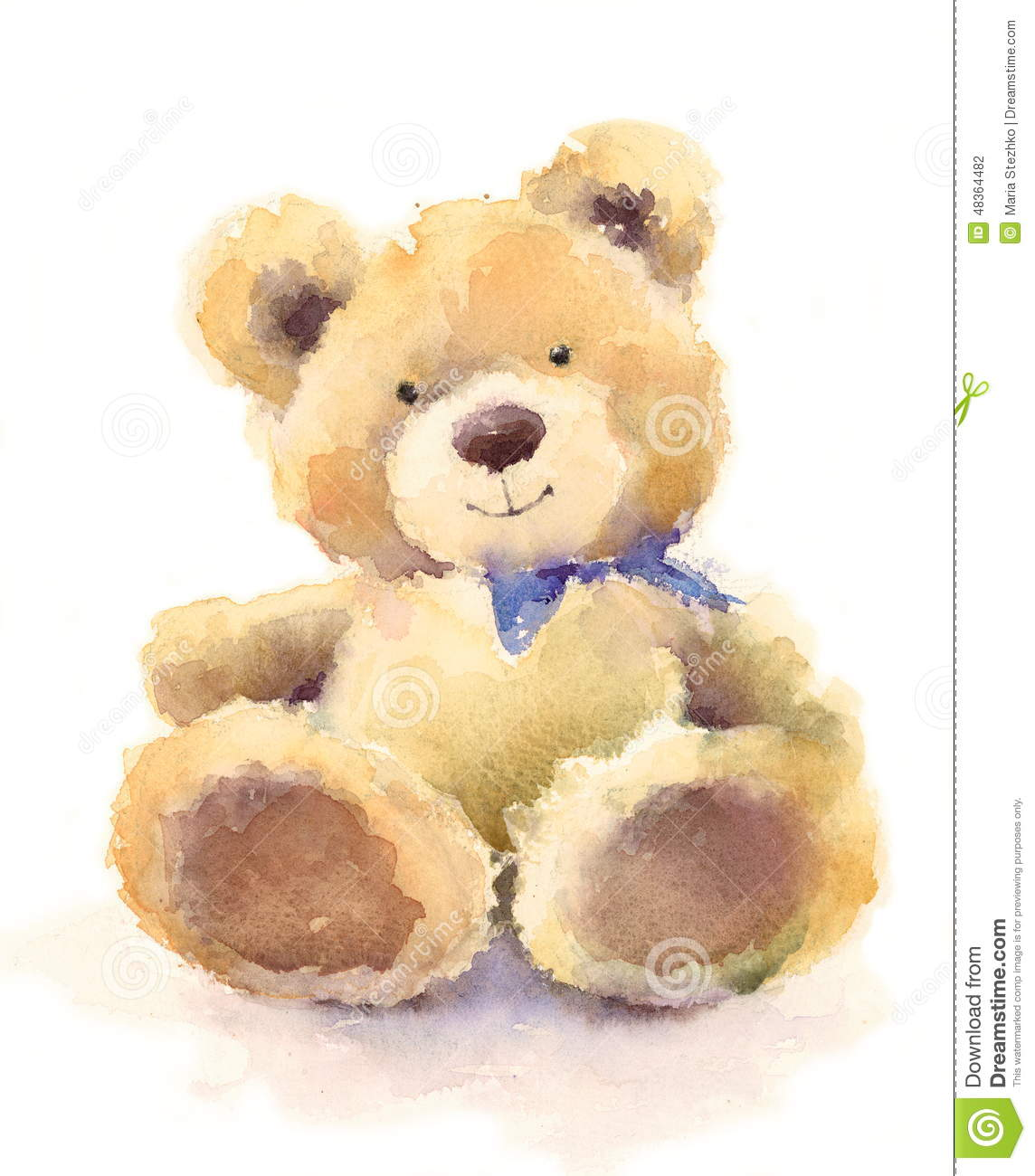 Red Teddy Bear Clipart