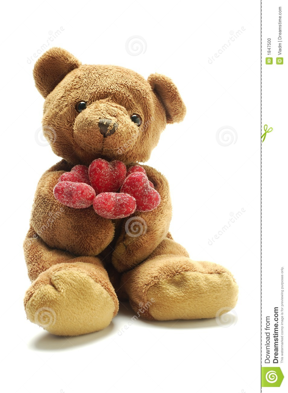 teddy bear in love stock photo image 1847500. Black Bedroom Furniture Sets. Home Design Ideas
