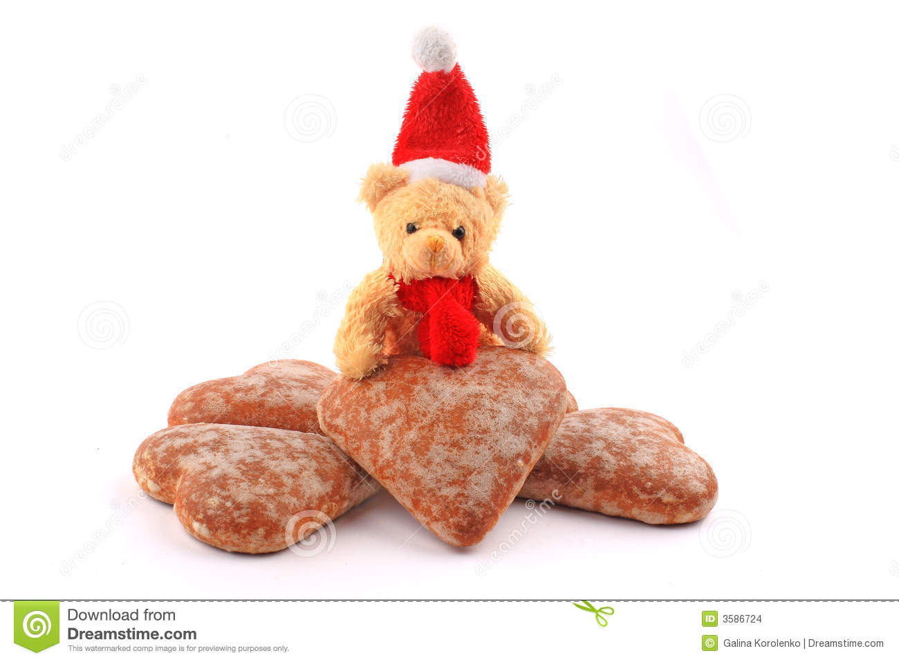 Teddy Bear On Pile Of Honey Ca Stock Images Image 3586724