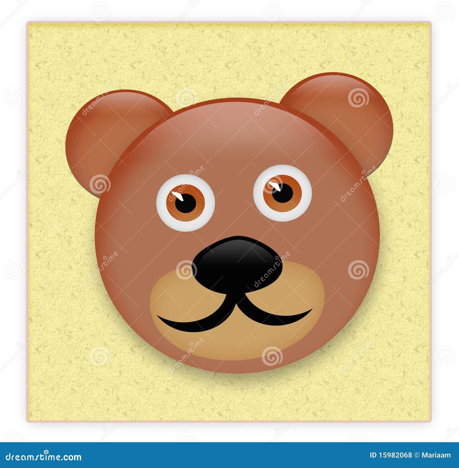 teddy bear sticker stock vector illustration of object 23465012