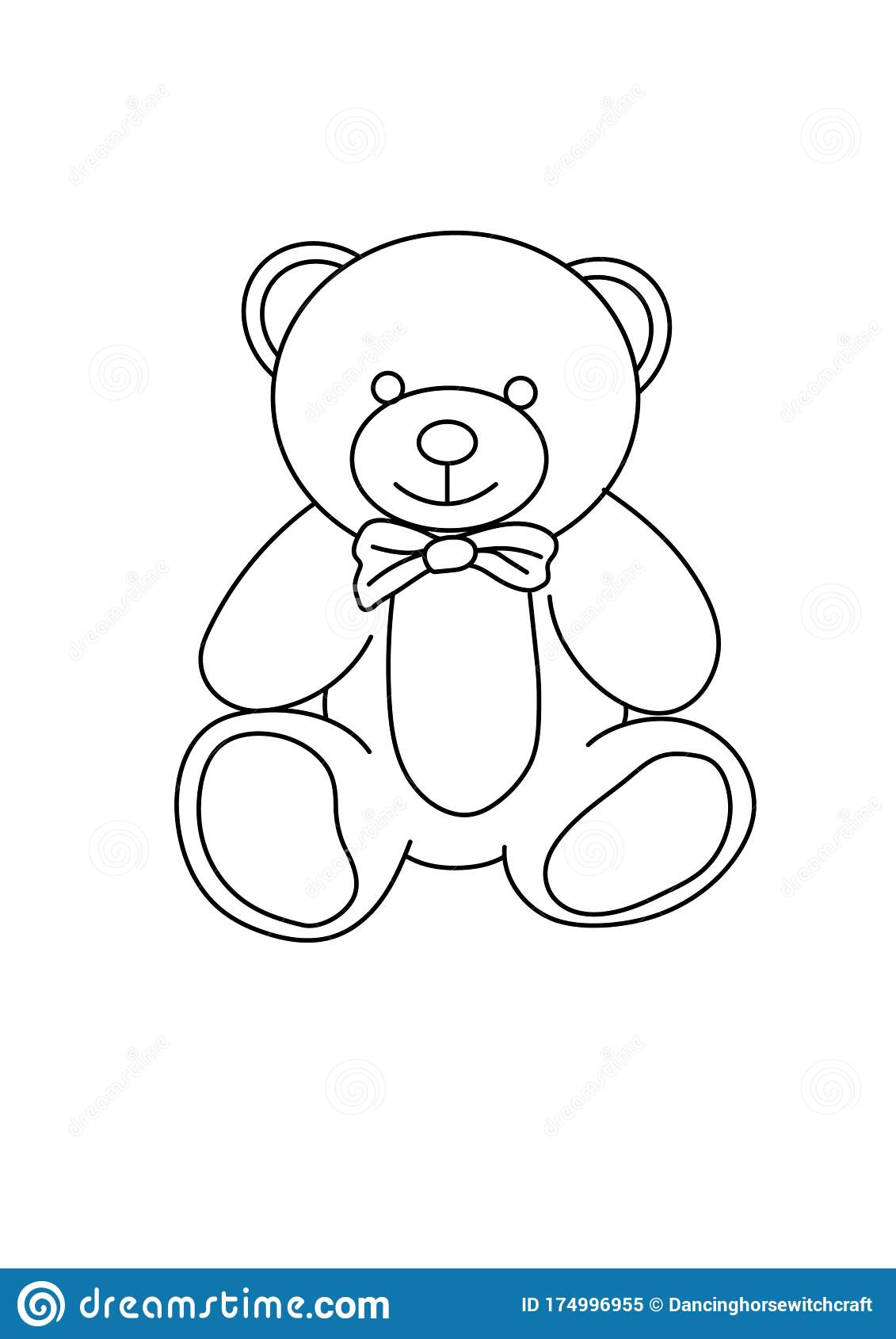 Teddy Clipart Plush Toy - Bear Cartoon Coloring Pages - Png ... | 1689x1131