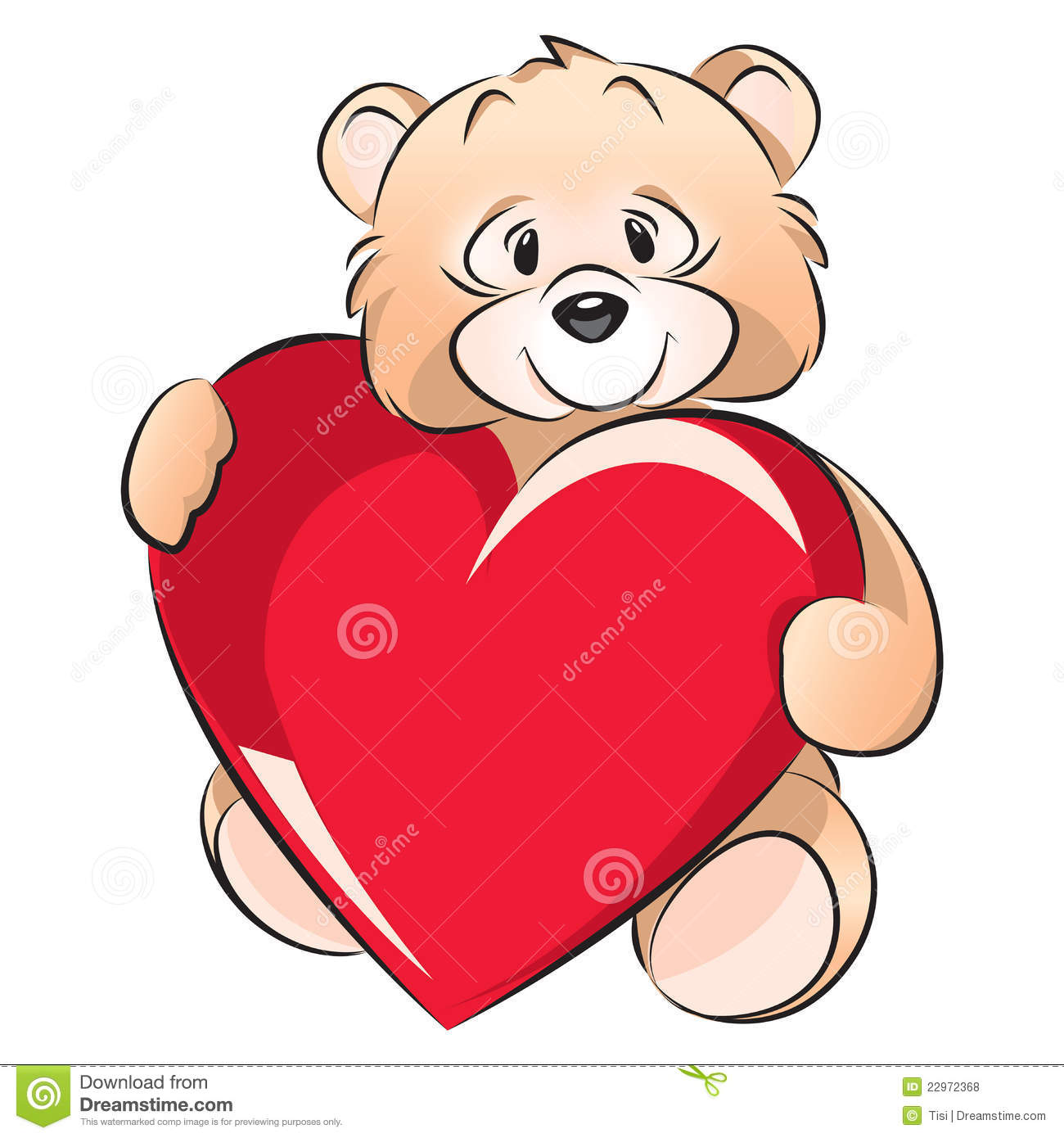 Teddy Bear Valentines Day Card Royalty Free Photos Image – Teddy Bear Valentines Day Card