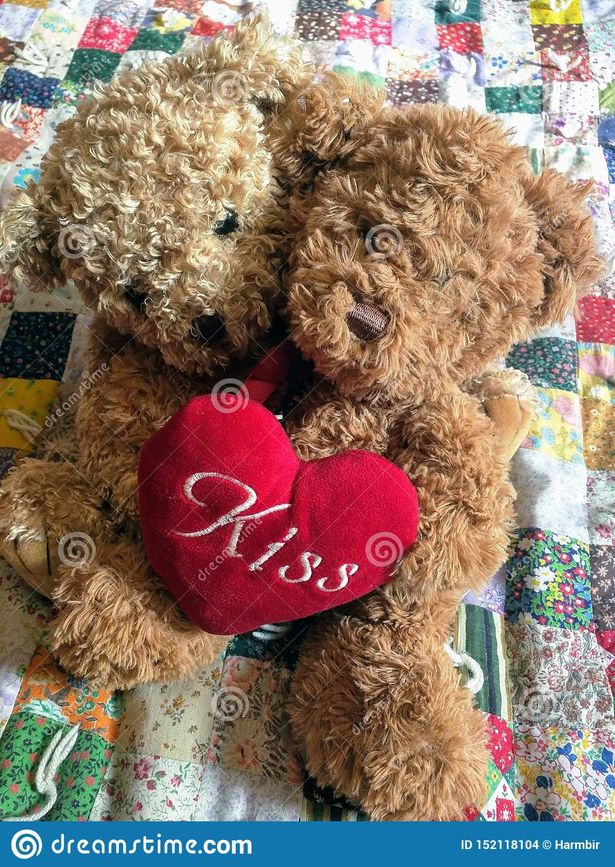 Teddy Bears In Love - Valentine& x27; osos del día de s
