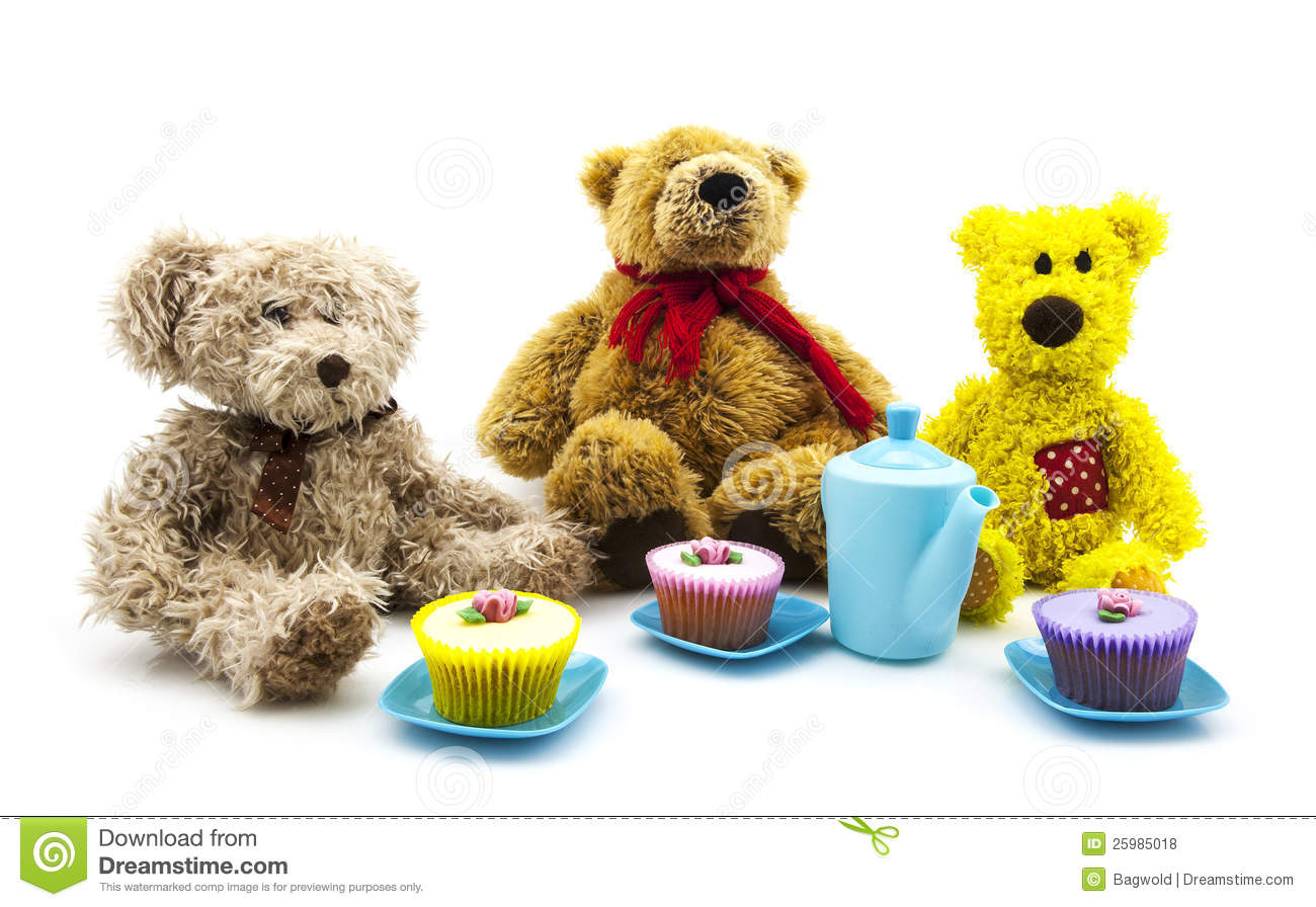 Teddy Bears Picnic Stock Photo Image Of Game Cuddly 25985018