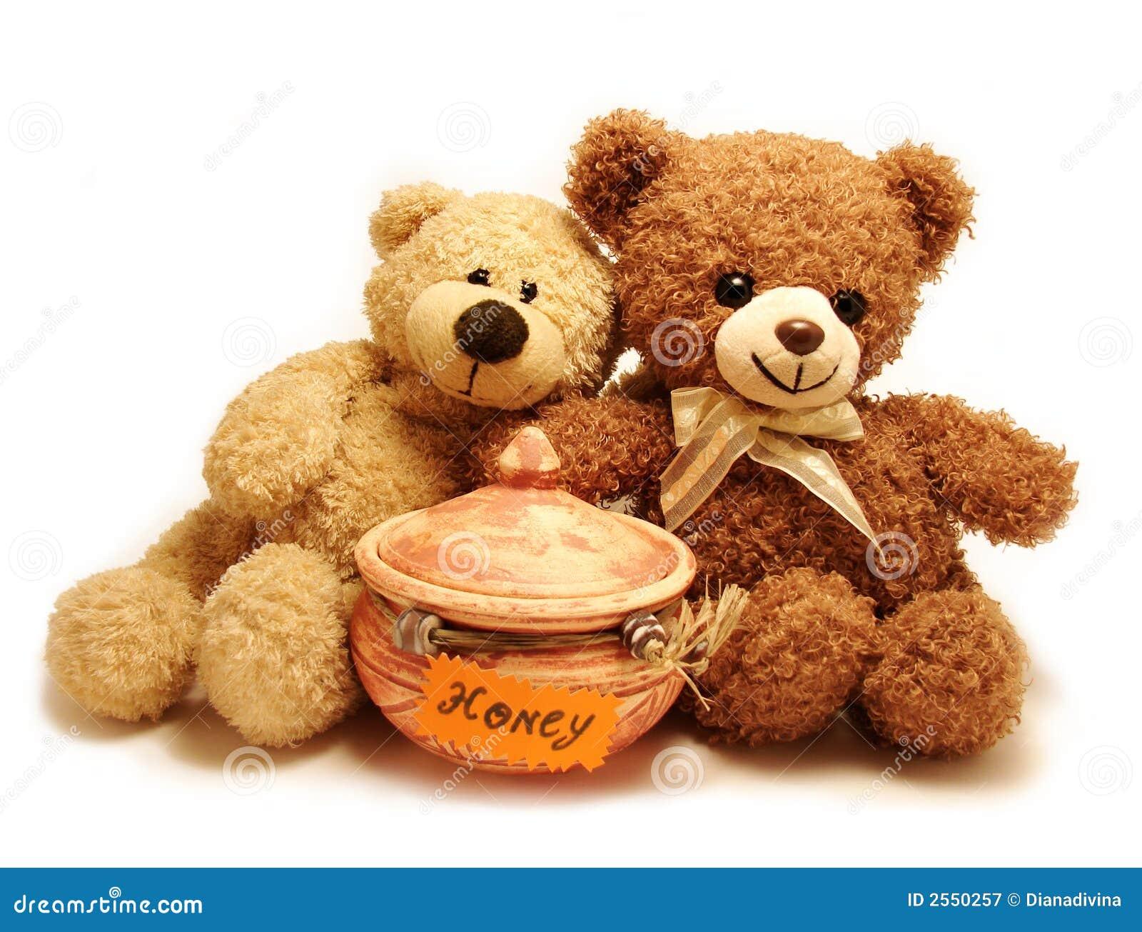 Teddy-beren & honing