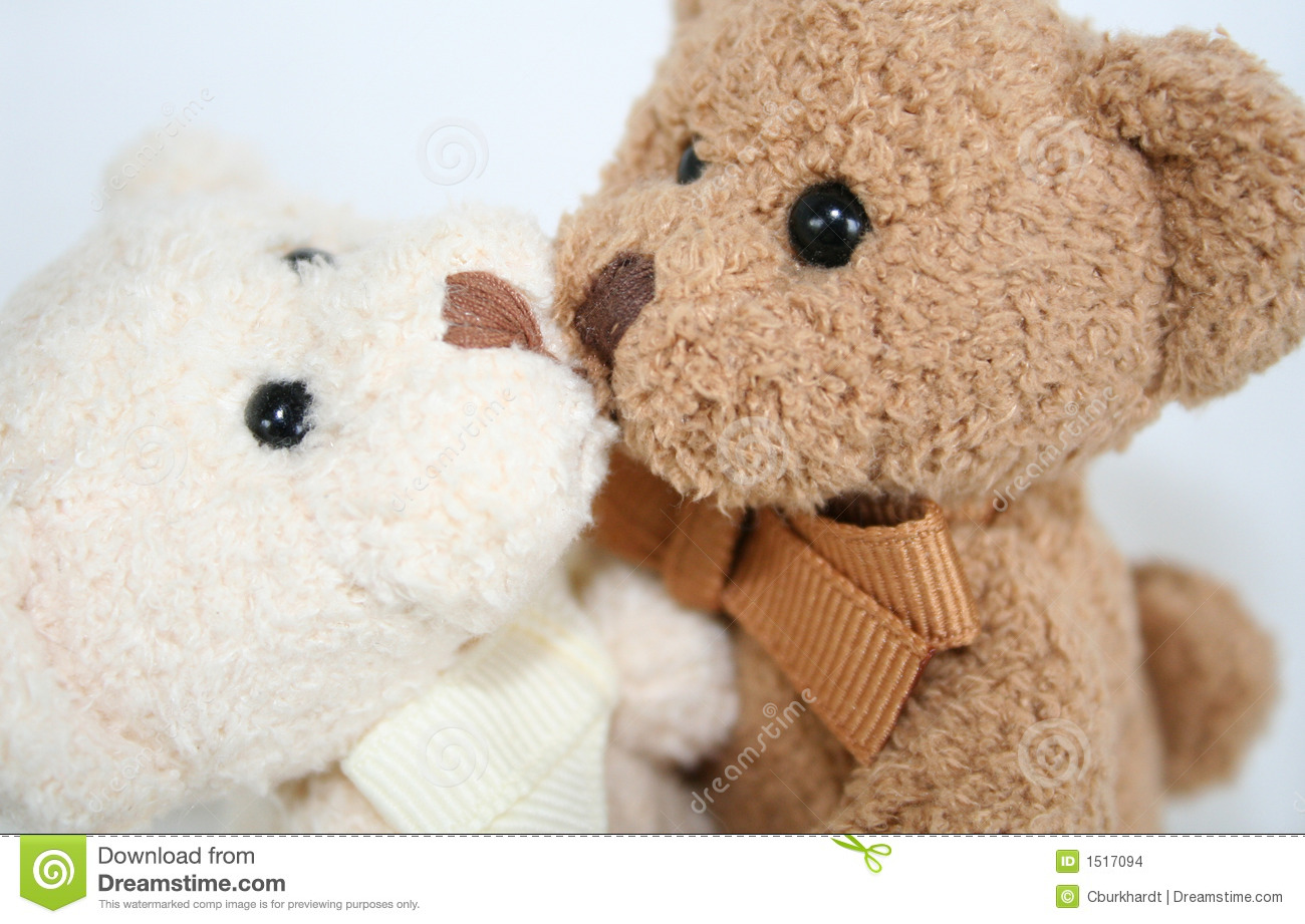 Teddy Hugs And Kisses Stock Images - Image: 1517094