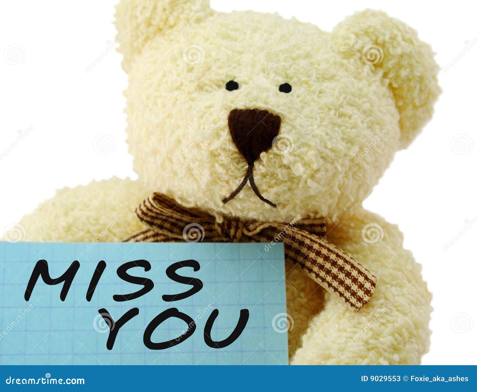 I Miss U Teddy Bear - Viewing Gallery