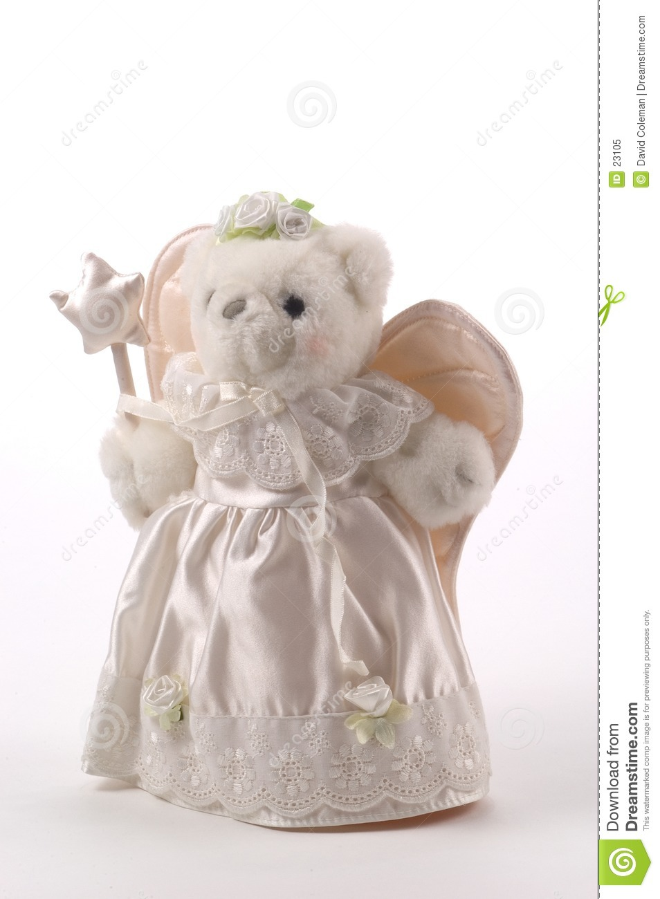 Teddy Tree Topper Royalty Free Stock Photo Image 23105