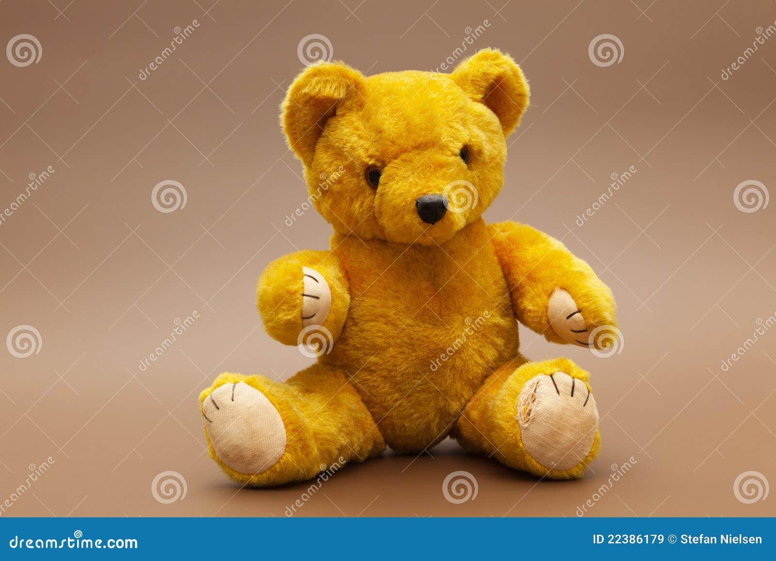Teddybear amarillo