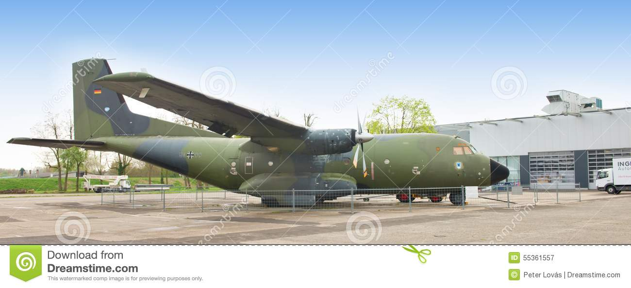Tedesco Transall C-160 - museo Speyer, Germania -