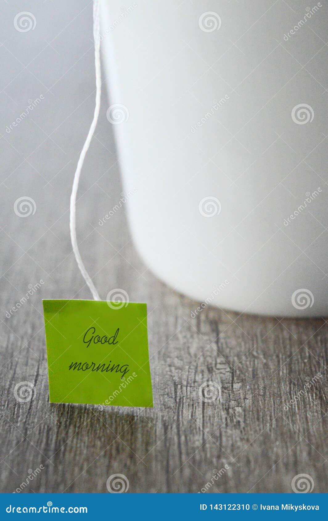Tee für guten Morgen