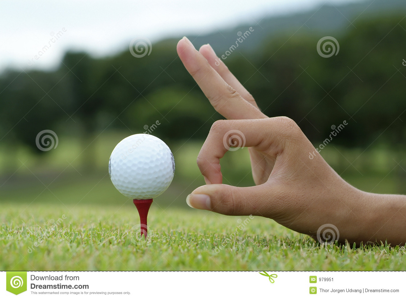 how to draw a golf ball off the tee