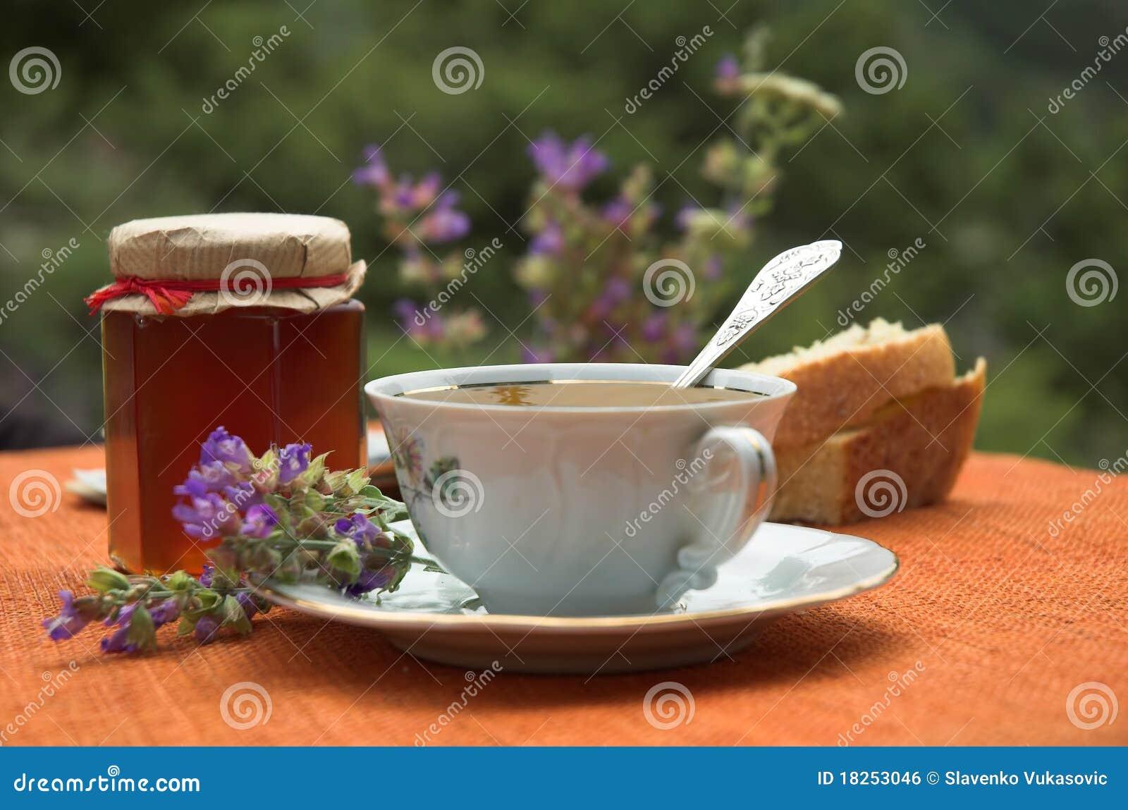 Tee und Honig